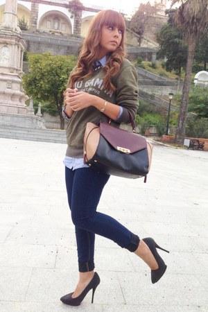 Parfois bag - Zara heels