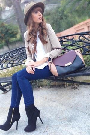 Zara boots - pull&bear jeans