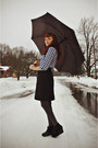 Black-wool-vintage-skirt-gray-walgreens-tights-black-flapper-girl-tie