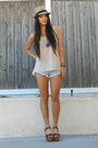 Light-blue-denim-shorts-cotton-on-shorts-peach-cut-out-cotton-on-top
