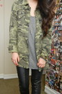 Army-green-camo-utility-forever-21-jacket-black-leather-donald-j-pliner-boots