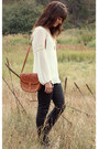 Tawny-vintage-bag-black-hudson-pants-ivory-daniel-rainn-blouse