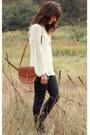 Tawny-vintage-bag-black-hudson-pants-ivory-daniel-rainn-blouse