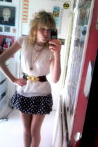 Maud shirt - A hand me down from my friend skirt - Charity Store necklace - Prim
