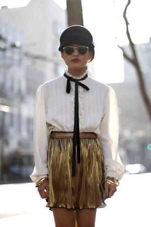 Forever 21 skirt - club monaco hat Club Monaco hat
