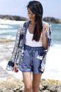 Zara-blazer-plain-white-tee-helmut-lang-shirt-zara-shorts