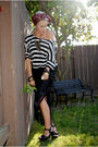 Black-thrifted-skirt-black-new-yorker-shirt-black-charlotte-russe-shoes-pi