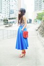 Blue-wore-as-top-asos-dress-blue-asos-skirt