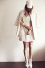 Off-white-zara-dress-eggshell-zara-coat-white-nelly-heels