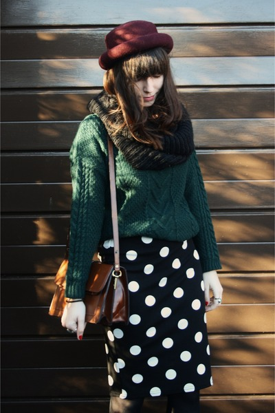 forest green jumper