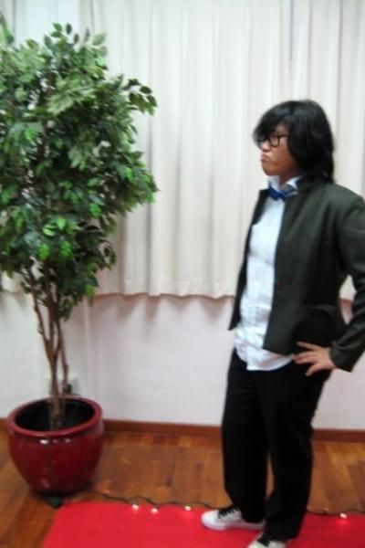 jacket - shirt - tie - pants