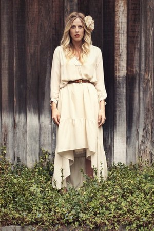eggshell WinterKate via Crossroads dress