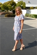 vintage dress - forever 21 21 shoes