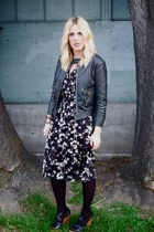 Foxy Vintage dress - Urban Outfitters jacket - Steve Madden shoes - asos belt