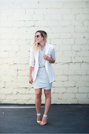 white Lovers & Friend blazer - silver Beckley By Melissa dress