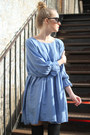 Sky Blue THE WHITEPEPPER Dresses