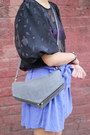 Heather Gray Clutch Shoulder The Whitepepper Bags