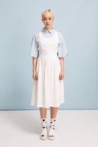 THE WHITEPEPPER shirt - THE WHITEPEPPER dress - THE WHITEPEPPER socks
