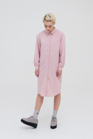 bubble gum THE WHITEPEPPER shirt - silver shoes