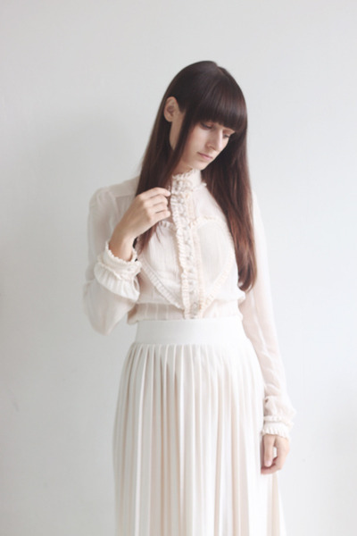 neutral viktor &amp; rolf for h&amp;m blouse - neutral Primark skirt