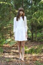 white Indiska dress