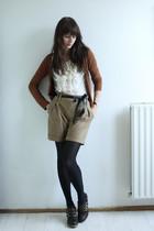 Bershka cardigan - Primark blouse