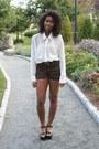Bronze-american-apparel-jacket-brown-jordie-leopard-motel-shorts