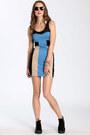Sky Blue Dresses