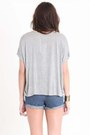 Gray Graphic Wkshp Tops