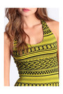 Yellow Bodycon Dresses