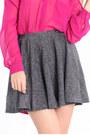 Navy Glitter Skirts