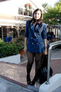 Blue-thrift-blazer-gray-random-shorts-black-topshop-tights-black-charles-