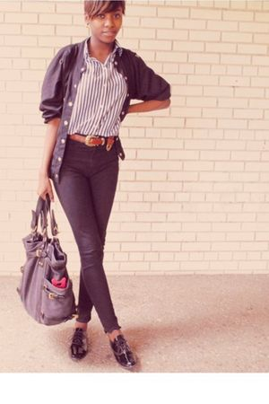 black American Apparel jeans - black American Apparel shoes