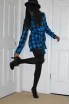 shirt - shoes - UO hat -