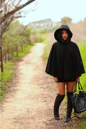 black Chinese Laundry boots - black Ebay jacket
