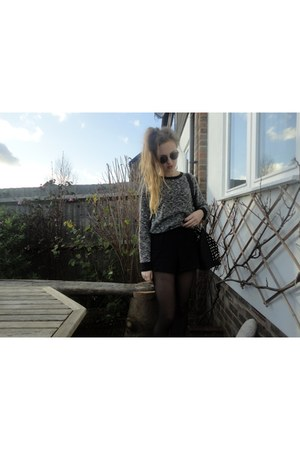 Primark shorts - Ebay bag - Topshop jumper