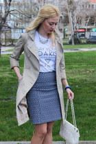 Zara t-shirt - H&M skirt