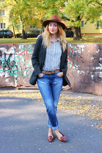 H m jeans loafers asos shoes pimkie coats h m hats h m - Pimkie boyfriend jeans ...