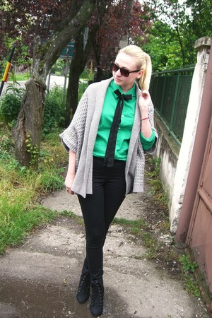 asos shoes - H&M shirt - Calliope cardigan