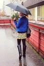 Stradivarius-boots-sheinsidecom-dress-new-yorker-jacket-h-m-sweater