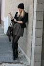 Newlook-boots-forever21-dress-terranova-blazer-asos-bag