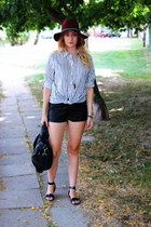H&M hat - H&M shirt - asos shorts - asos sandals