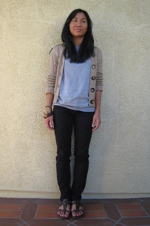 Old Navy jacket - calvin klein t-shirt - H&M pants - Target shoes