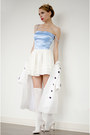 Sky-blue-by-tini-tani-top-off-white-oasap-skirt