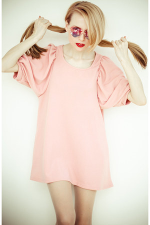 light pink Sheinside dress