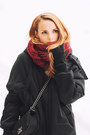 Silver-oasap-dress-black-zara-coat-black-chanel-bag