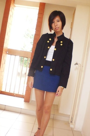 jacket - skirt - accessories