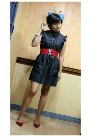 168 belt - Denim Dress from 168 - Online store shoes