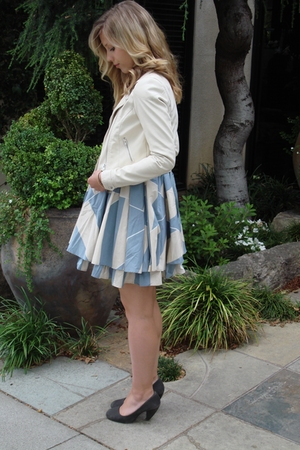 H&M jacket - Marc by Marc Jacobs dress - seychelles shoes