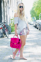 PROENZA SCHOULER purse - Isabel Marant shorts